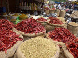 Indien, Markt in Bhopal